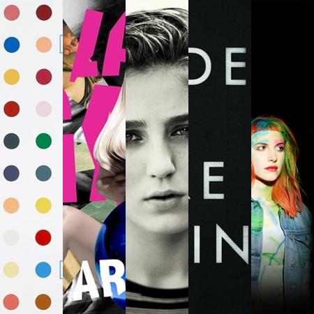 Top 5 albuns 2013