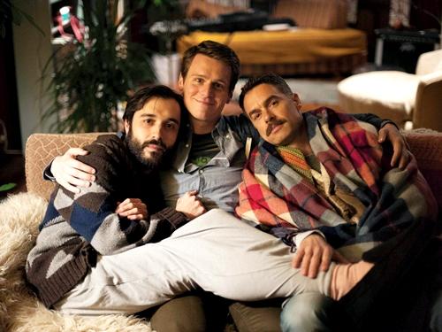 Agustín, Patrick e Dom.