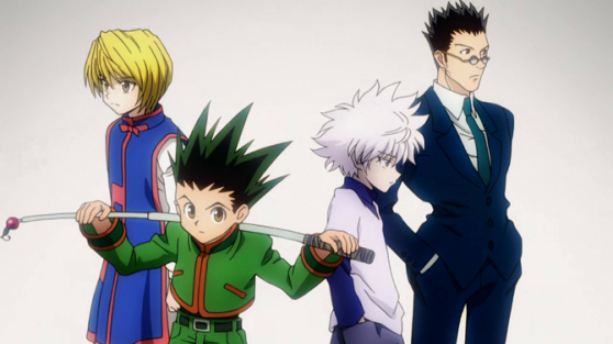 Kurapika, Gon, Killua e Leorio, bitches!